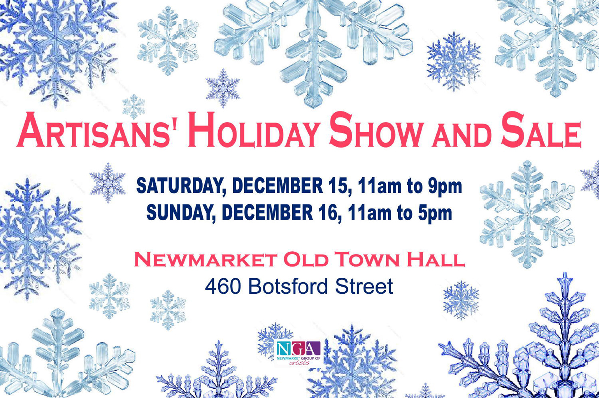 Dec 15 - 16, Artisans' Holiday Show and Sale